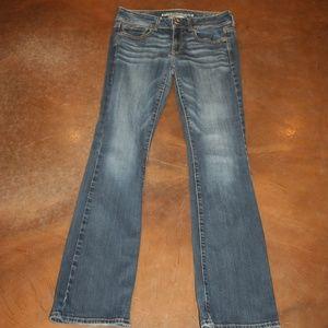 AMERICAN EAGLE Jeans 6 L Stretch Kick Boot 30 x 32
